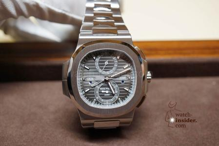 patek philippe nautilus travel time chronograph replica